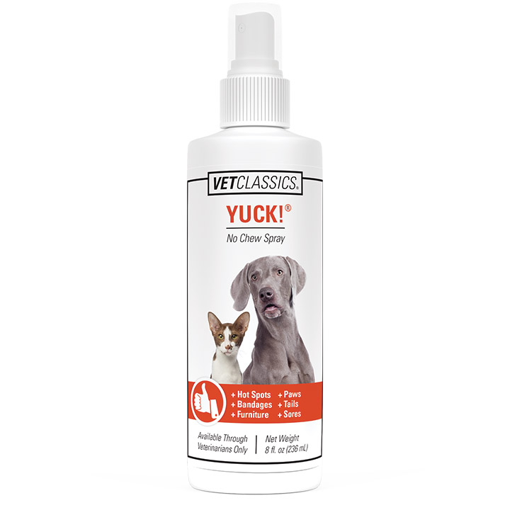 Yuck! No Chew Spray for Dogs and Puppies by Vet Classics